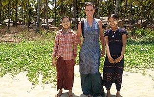 Isabelle Gruet, en Birmanie !