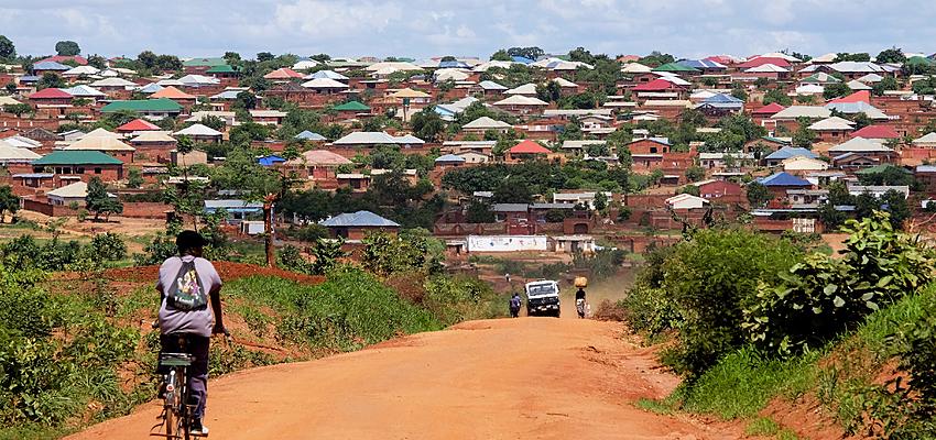 Retour à Lilongwe sur la route S122