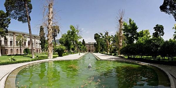 Jardin des Palais du Golestan