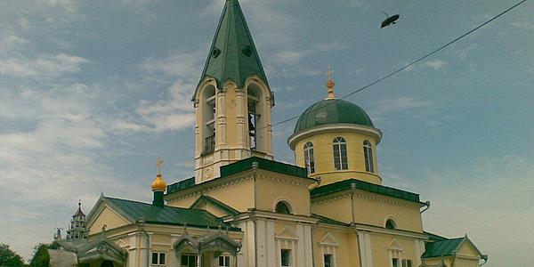 Le monastère de Hincu