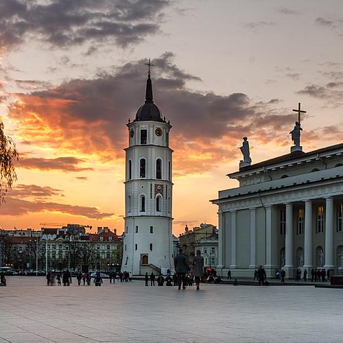 Les Capitales Baltes en groupe - Vilnius -
