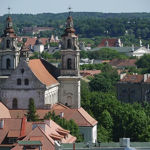 Les Châteaux et les manoirs Baltes - Vilnius -
