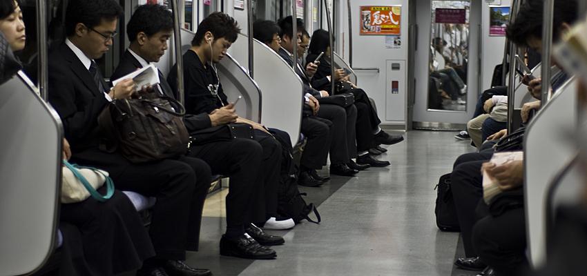 The underground in Tokyo