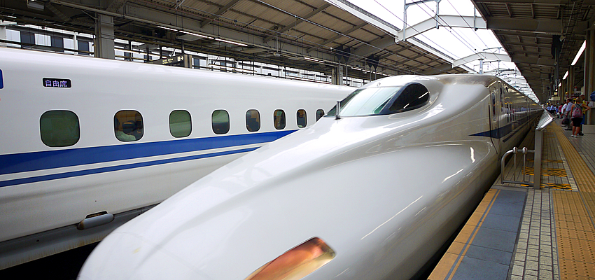 Le Shinkansen, train japonais