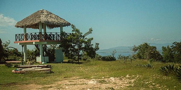 Vue sur la baie de Guantanamo