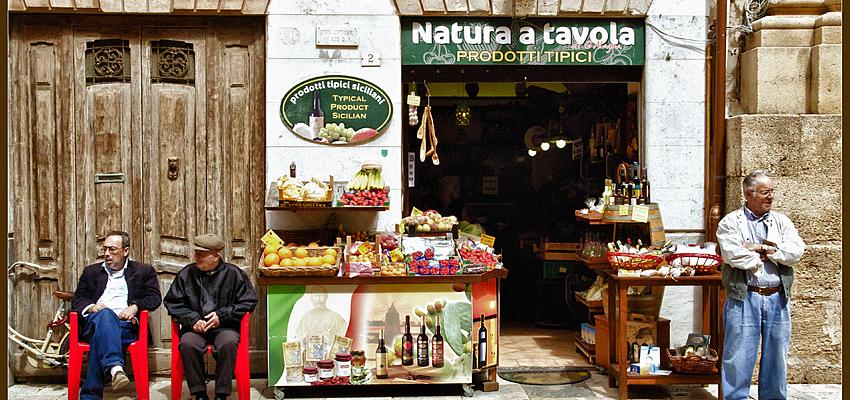Boutique sicilienne