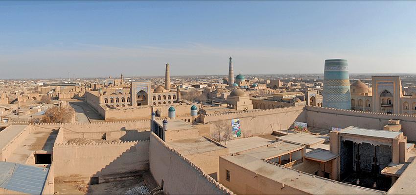 La antigua ciudad de Jiva