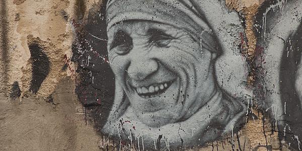 Peinture de Mère Teresa