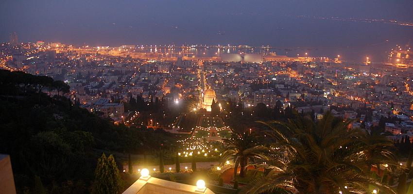 Haifa de nuit
