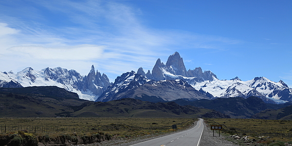 Il Cerro Fitz Roy, vicino all'El Chalten