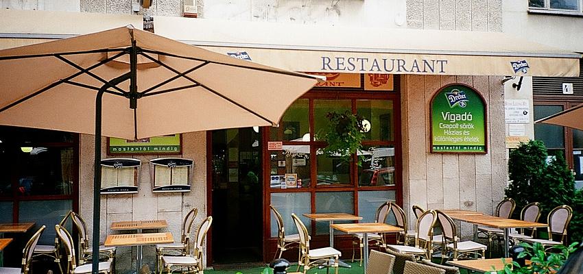 Restaurant à Budapest