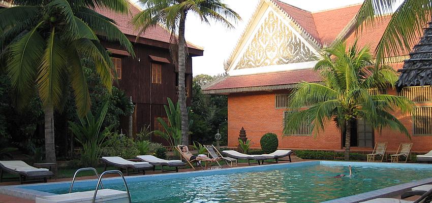 Hotel au Cambodge