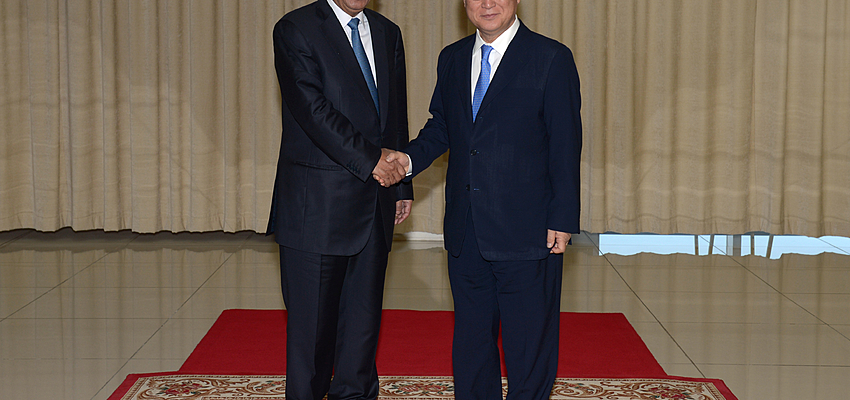 Hun Sen & Yukiya Amano