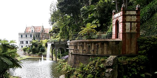 Le Jardin Tropical Monte Palace de Funchal, Madère