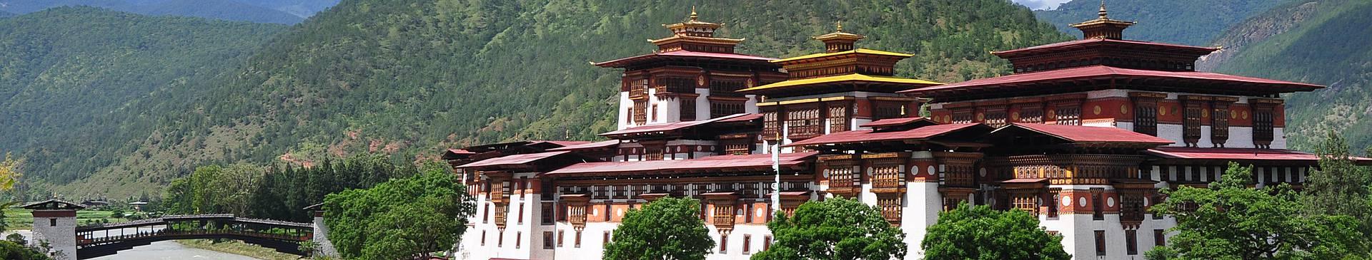Städtereise Bhutan