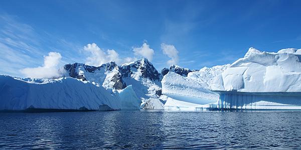 Les eaux de l'Antarctique