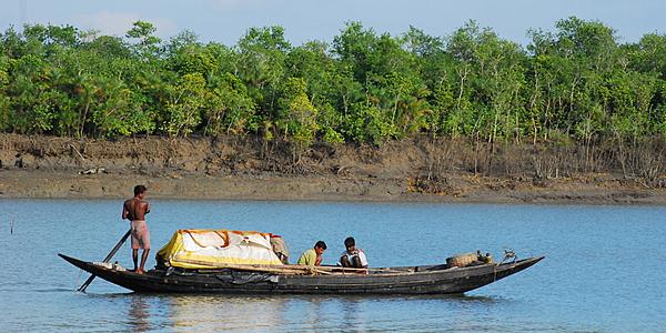 Pêcheurs dans le sud du pays