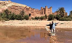 JF et THÉ, voyage au Maroc