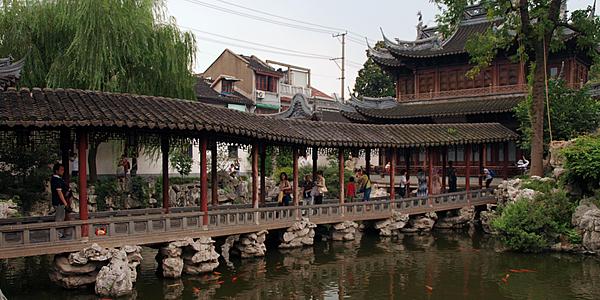 Le Jardin Yu, Shanghai traditionnel