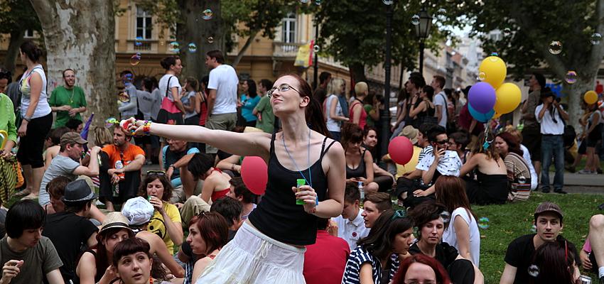 La Gay Pride de Zagreb