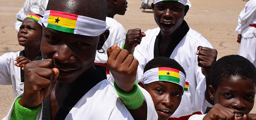 Communiquer avec des Ghanéens