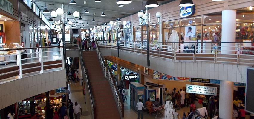 Centre commercial à Abidjan