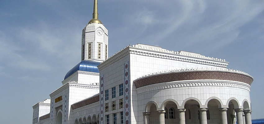 La gare d'Ashgabat