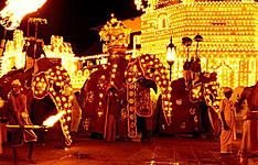 La Perahera de Kandy en août, la fête des éléphants