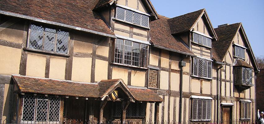 Maison de naissance de Shakespeare à Stratford-upon-Avon