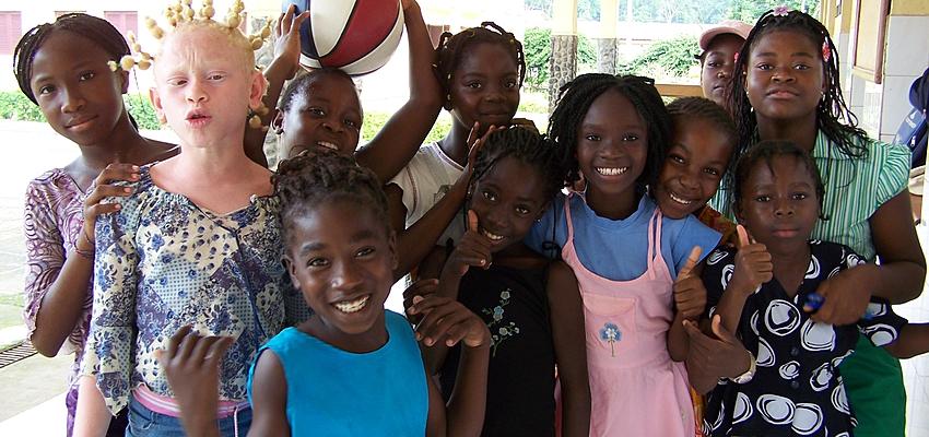 Enfants de Guinée Equatoriale