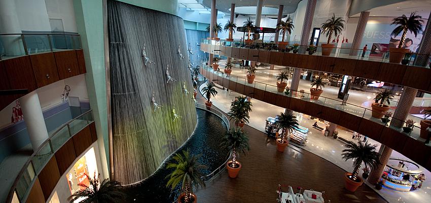 Centre commercial de Dubai (mall)