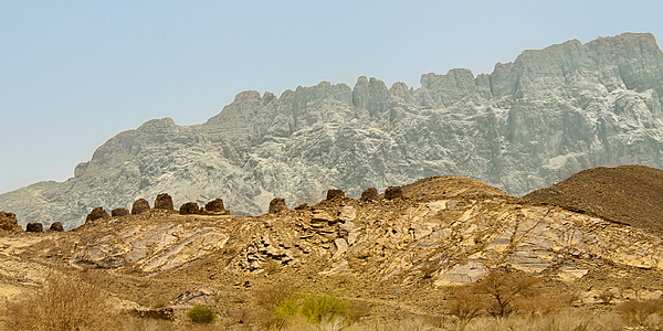The tombs of Bat and Jebel Misht.