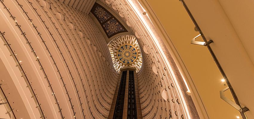 Hotel luxueux Khalidiya Palace Rayhaan, Abou Dabi