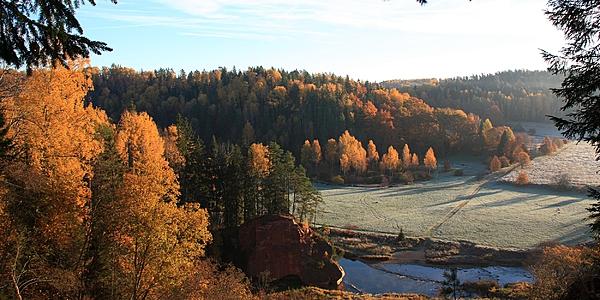 Parc national Gauja, Lettonie