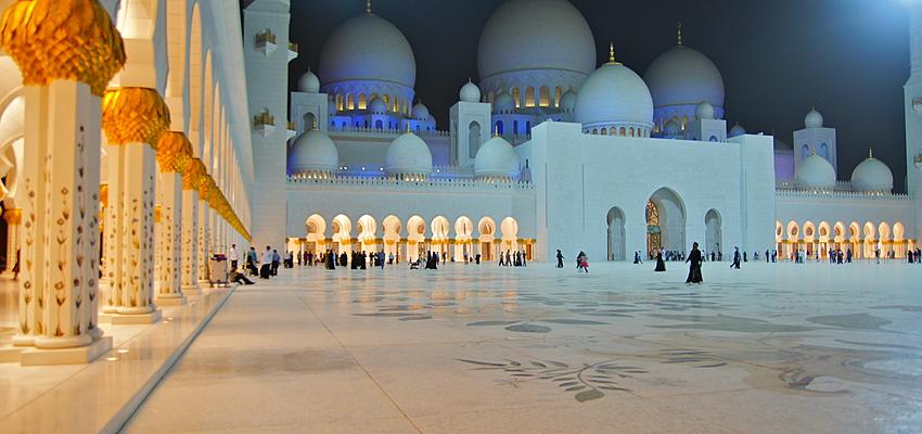 Mezquita Sheikh Zayed, Dubai