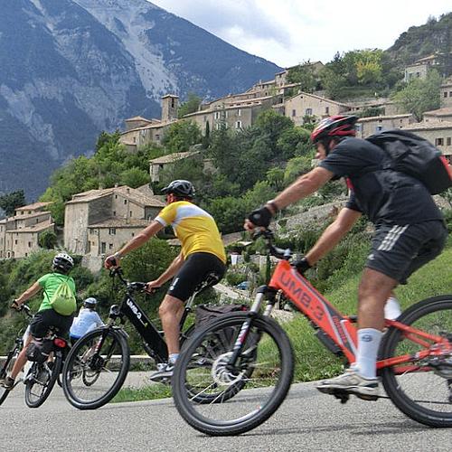 Le Mont Ventoux en vélo - Nyons -