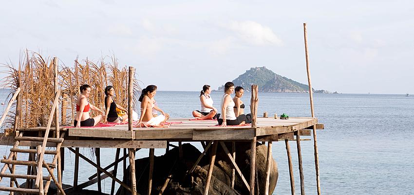 Cours de yoga en Thaïlande