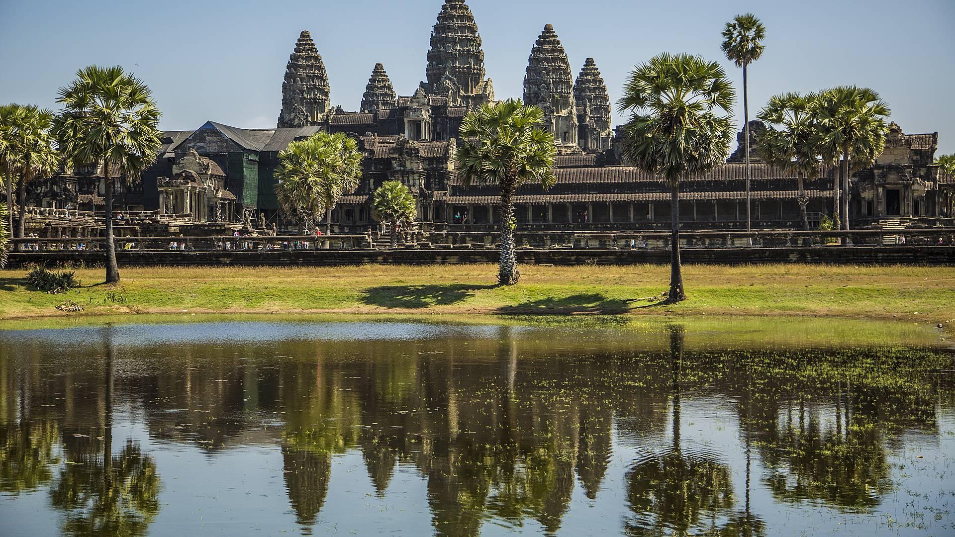 Die Tempelwelt bei Siem Reap