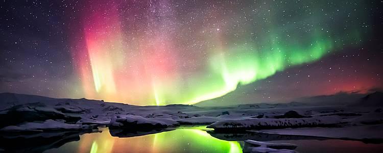 Aurores boréales et bains chauds - L'Islande en hiver