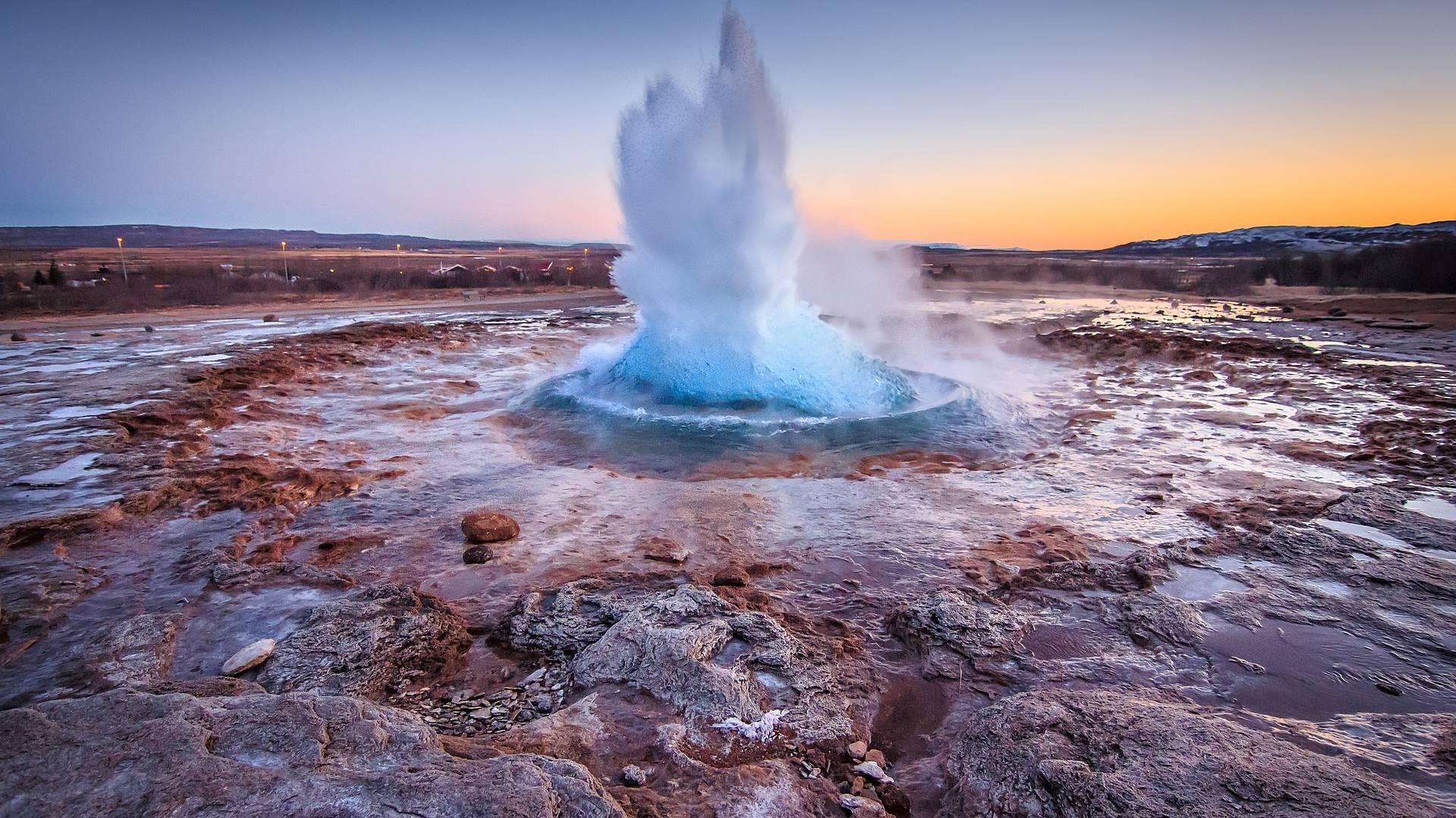 Sources chaudes et bien être en pays d'Islande