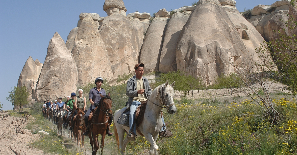 Voyage avec des animaux Turquie : A cheval, en famille ou entre amis