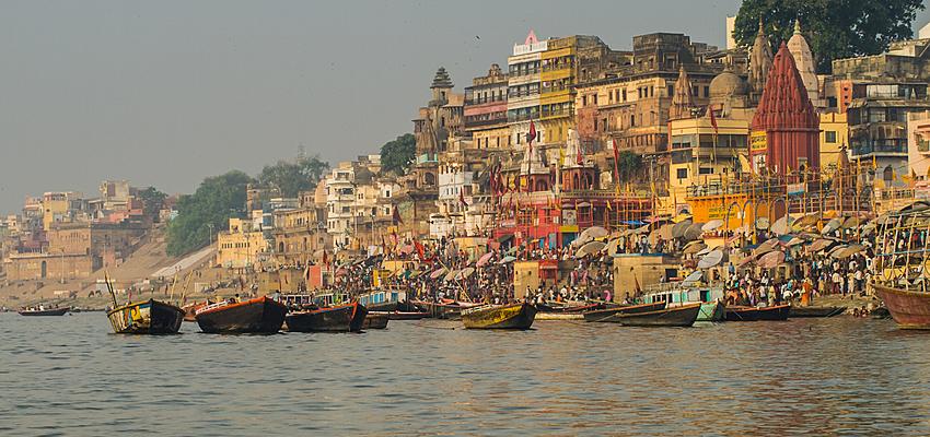 Varanasi, Gange, India