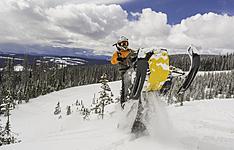 L\'Ouest Canadien sous la neige