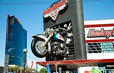 Let\'s go West Tour en Harley