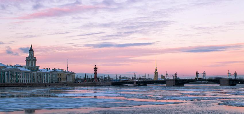 Saint-Pétersbourg en hiver