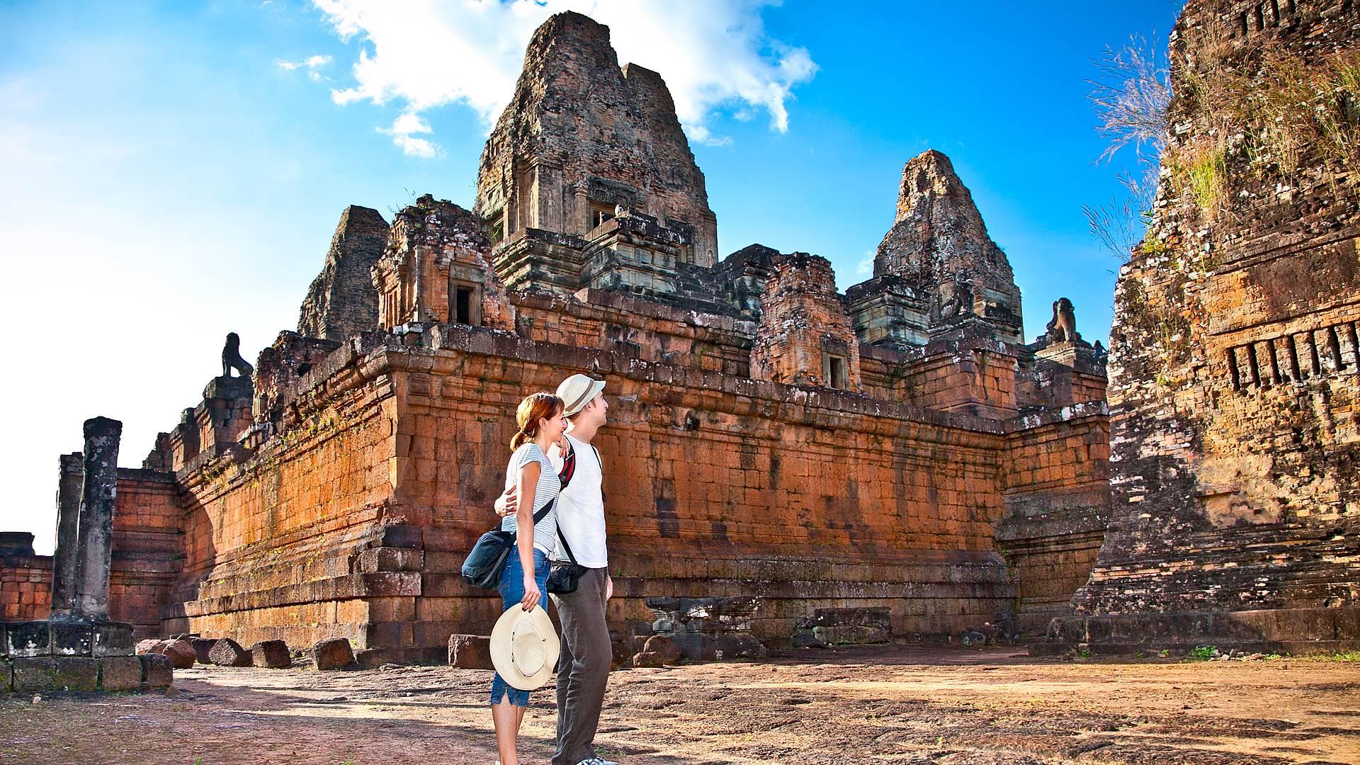 Voyage de noces: l'amour encore et Angkor