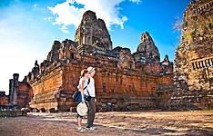 Voyage de noces à Angkor