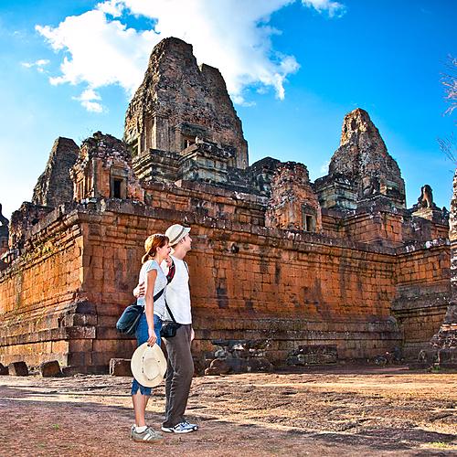 Voyage de noces: l'amour encore et Angkor -