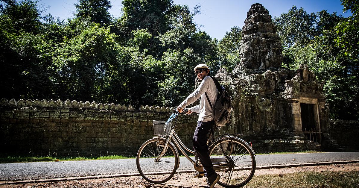 Voyage en véhicule Cambodge : Raid VTT entre plaine, campagne et montagne-groupe d\'amis