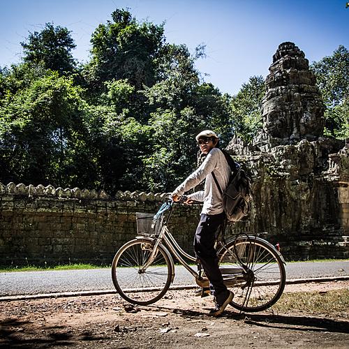 Raid VTT entre plaine, campagne et montagne-groupe d'amis - Siem Reap -